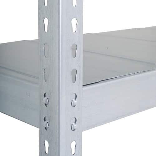 GS340 Shelving - 1220w x 455d Extra Galvanized Shelf