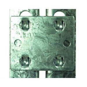 GS800 Set of 4 Galvanised Tie Plates