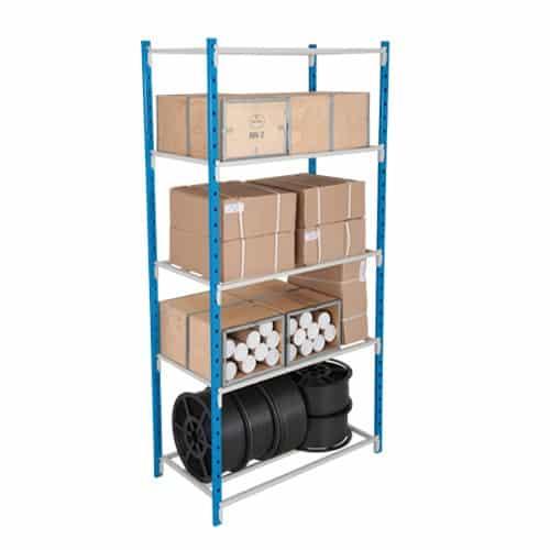 Add On Tubular Shelving Bay - 5 Tubular Shelves 2000h x 1250w