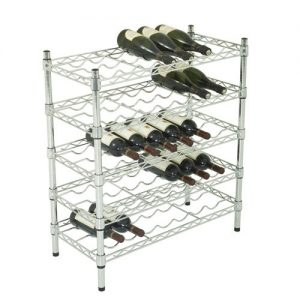35 Bottle Wine Storage Unit - 5 Shelves