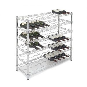 54 Bottle Wine Storage Unit - 6 Shelves