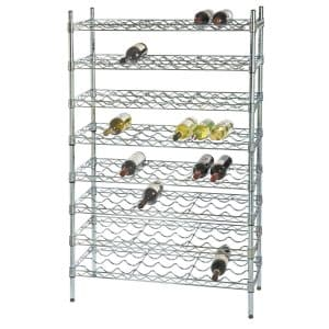 63 Bottle Wine Storage Unit - 7 Shelves