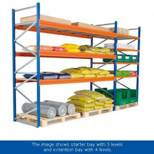 Wide Span 2000h Racking System