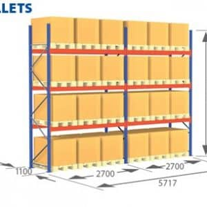 Pallet Racking Complete Systems - 24 Pallets