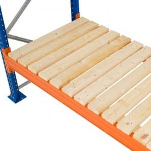 Open Timber Decks - Pallet Loading