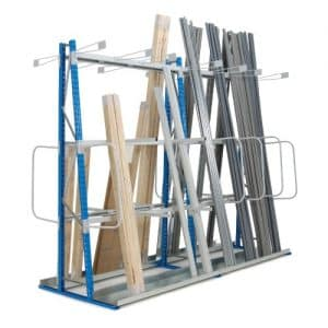 Add On Vertical Storage Bay 2500h Double Sided