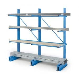 Add On Medium Duty Cantilever Racking Single Sided
