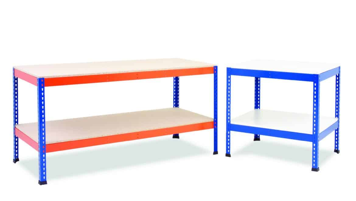 Heavy Duty Workbenches - Plus Lower Shelf