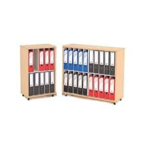 Mobile Lever Arch File Storage Units