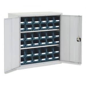 Lockable Bin Cupboard with 36 No.103 bins