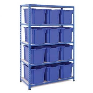 Gratnells Tray Bay - 24 Jumbo Trays