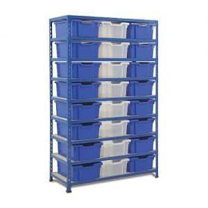 Gratnells Tray Bay - 24 Deep Trays