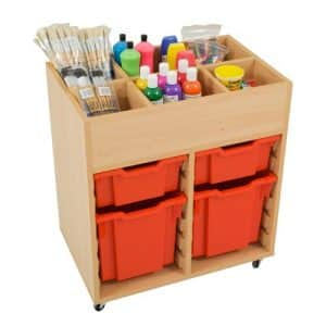 Multi Purpose Storage Unit with 4 Trays