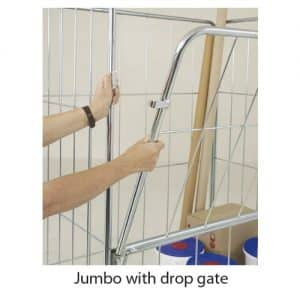 Jumbo Demountable Roll Cages