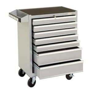 Silver Range 7 Drawer Mobile Cabinet