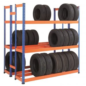 GS800 Heavy Duty Tyre Rack - Double Sided