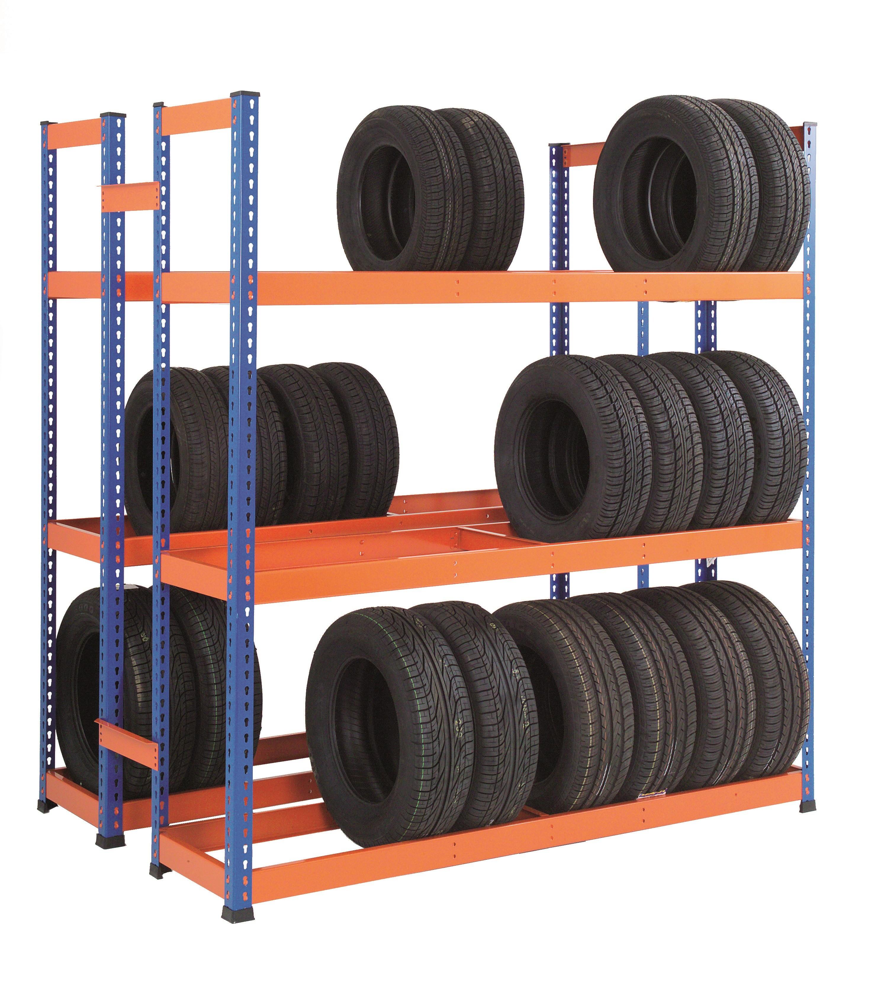 GS800 Heavy Duty Tyre Rack – Double Sided